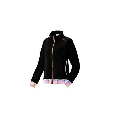 ヨネックス(YONEX) レディース ニットウォームアップシャツ 57023 007 ブラック MR