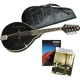 ローグ/Rogue Learn-the-Mandolin Package Black/民謡/民族楽器【並行輸入品】