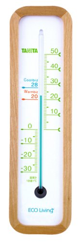 タニタ 温度計 ウッド TT-542-WD(1台)