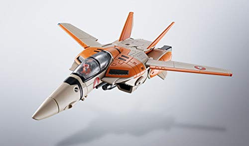 HI-METAL R 超時空要塞マクロス VF-1D バルキリー 約140mm ABS&PVC&ダイキャスト製 塗装済み可動フィギュア