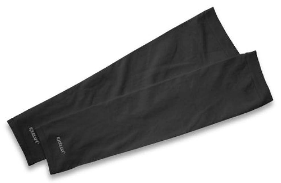 溶けたパック近代化するEXELUX UVカットアームスリーブ ブラック