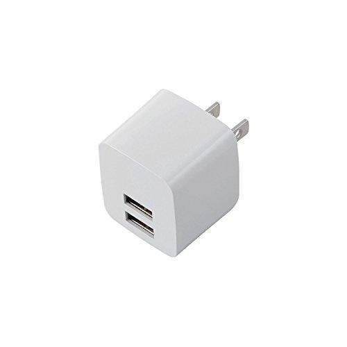 エレコム 充電器 ACアダプター 【iPhone&Android対応】 折畳...