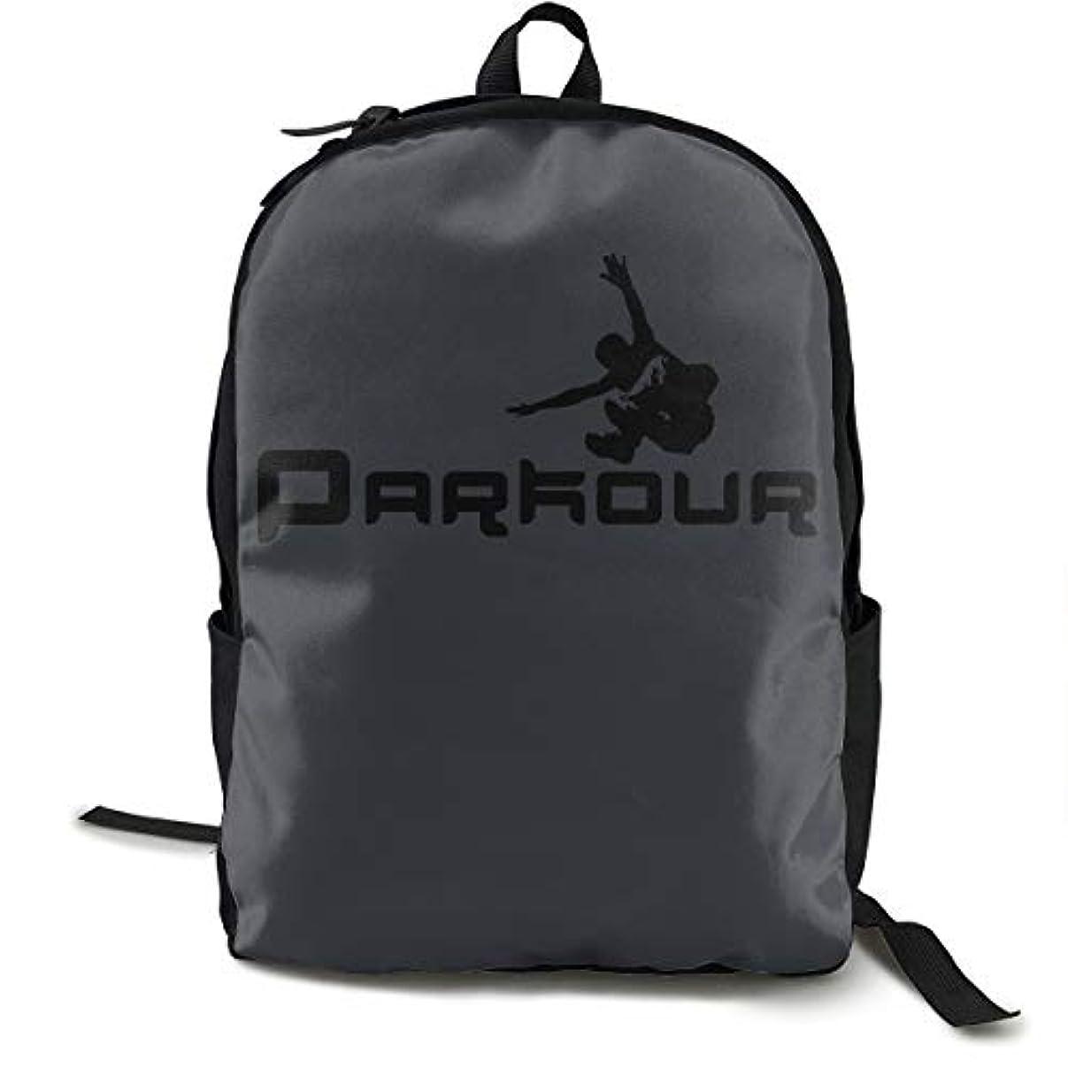 スチュワード理容師調べるパルクール PK カッコいい 飛ぶ ジャンプ ストリート Parkour リュックサック バックパック 通学 通勤 出張 旅行 多機能 メンズ レディース 大容量 黒 アウトドアリュック 登山リュック