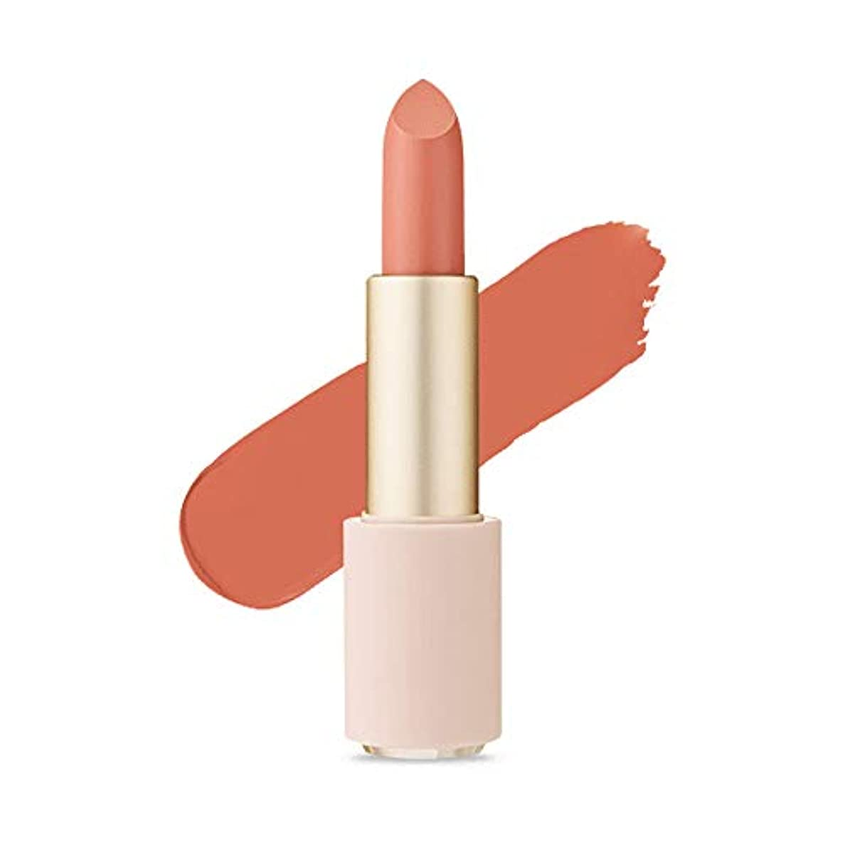有毒灰協定Etude House Better Lips Talk Velvet エチュードハウス ベター リップス - トーク ベルベット (# BE103 Kinda Nude) [並行輸入品]