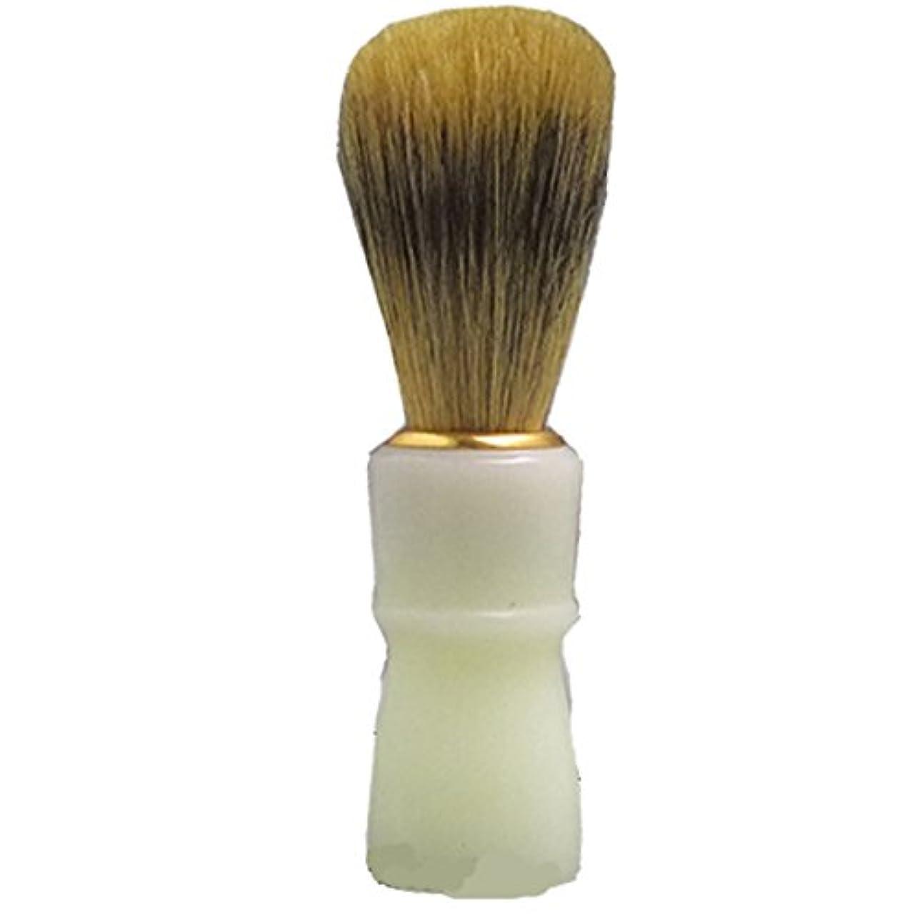ファウル望まないセッティングT-150 ひげブラシ 心地よいヒゲ剃り?お顔剃りが自宅でも! (シェービングブラシ) 大阪ブラシ