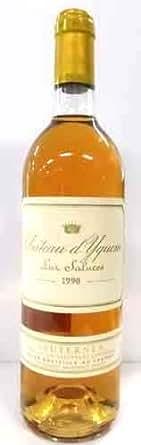 シャトー・ディケム  1990 フランス産 Chateau d'Yquem