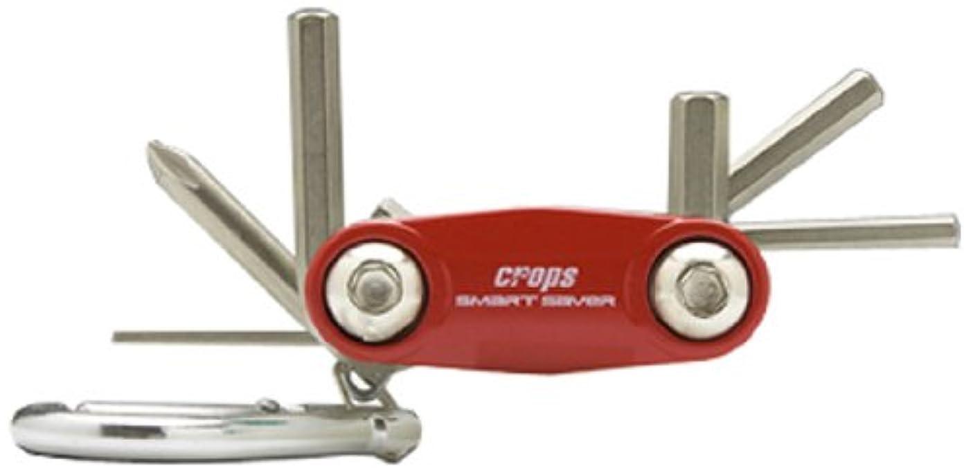 スローバラ色メモcrops(クロップス) SMART SAVER フォールディングツールSSSV-S レッド