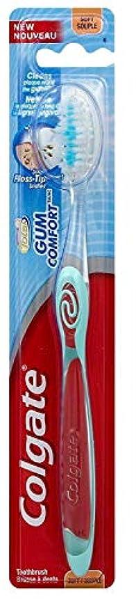 イチゴアセスリッパColgate ガムコンフォート歯ブラシソフト(2パック)