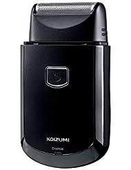 コイズミ メンズシェーバー USB充電式 往復式 ブラック KMC-0700/K