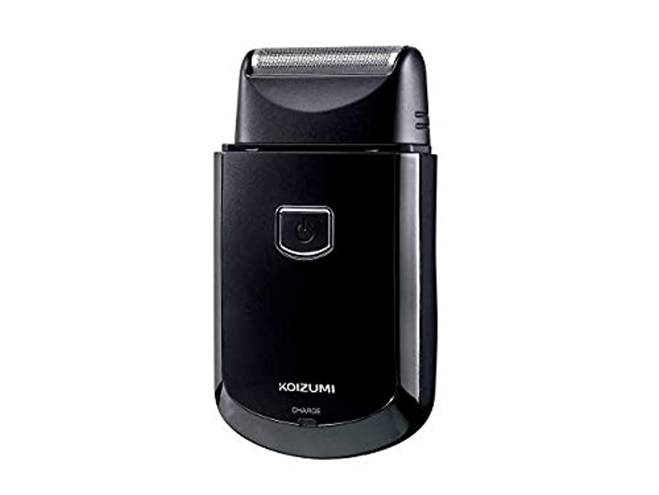 健康風味フォーマルコイズミ メンズシェーバー USB充電式 往復式 ブラック KMC-0700/K
