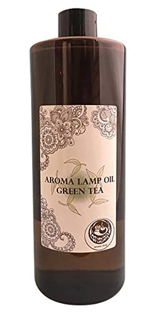 驚いたことに永続ゆるいアロマオイルランプオイルグリーンティ500ml