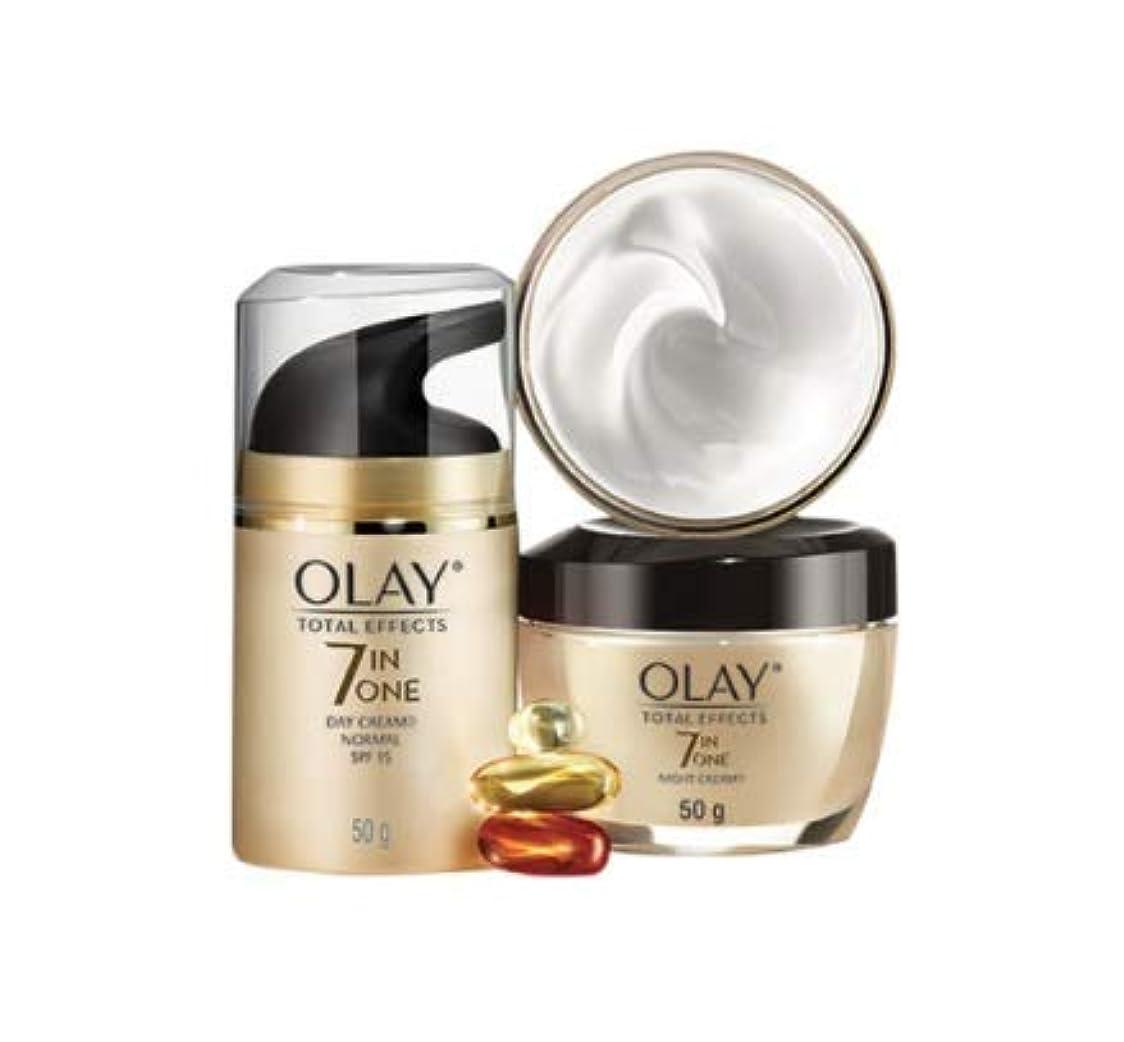 飢えた立ち向かう待つOlay Total Effects Normal Cream SPF 15 50g Free Olay Total Effects Night Cream 50g Olay p&g