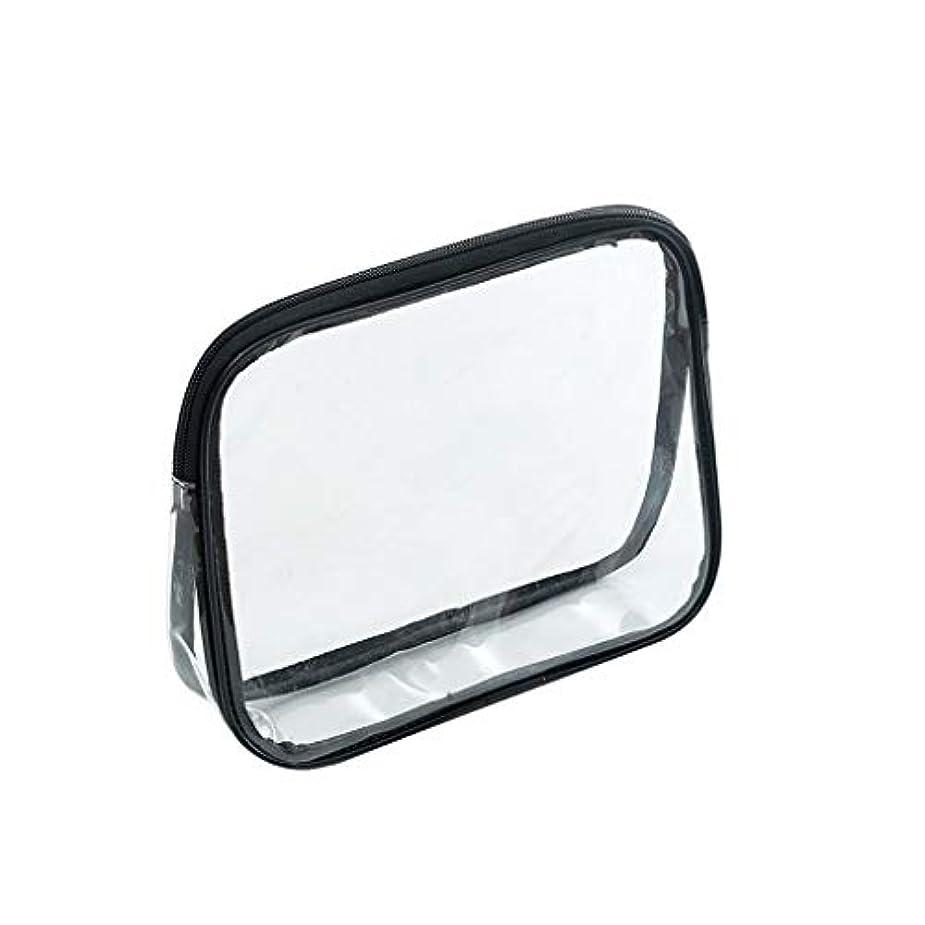 TopFires クリアポーチ 化粧ポーチ クリアボックス 大容量 化粧品収納 ビニールポーチ PVC 透明ポーチ 小物入れ 防水