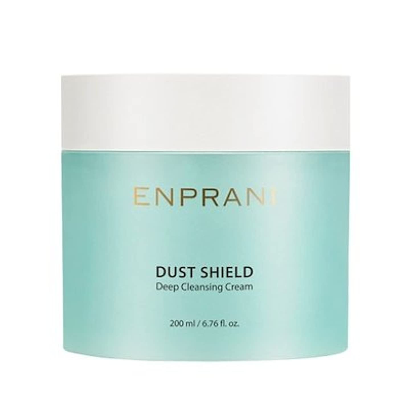 アフリカ人グラフ作家ENPRANI Dust Shield Deep Cleansing Cream エンプラニ ダストシールドディープクレンジングクリーム200ml [並行輸入品]