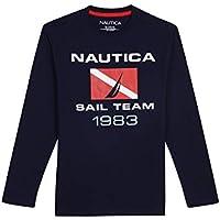 Nautica Baby Toddler Boys' Long Sleeve Graphic T-Shirt