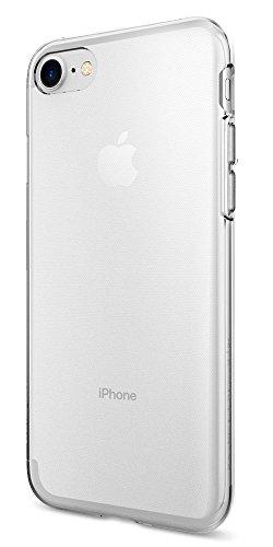 【Spigen】 iPhone 7 ケース, リキッド・クリスタル  クリア 超薄型 超軽量  アイフォン 7 用 カバー (iPhone7, クリスタル・クリア)
