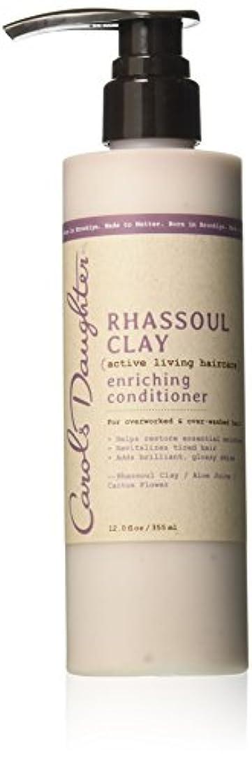 弾力性のある悩むペルメルキャロルズドーター Rhassoul Clay Active Living Haircare Enriching Conditioner (For Overworked & Over-washed Hair) 355ml