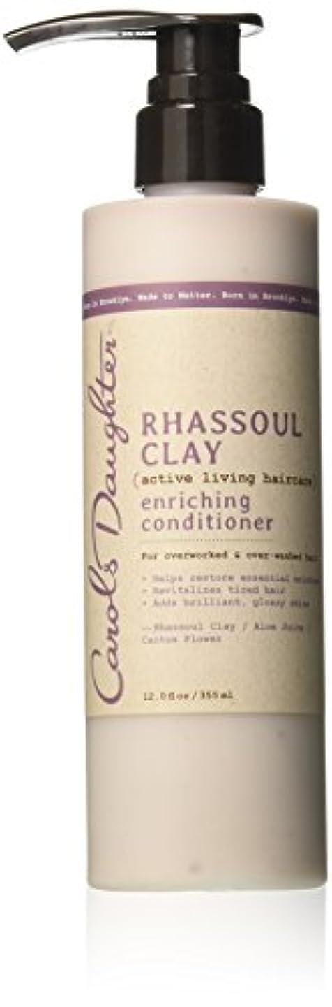 好戦的な完璧青写真キャロルズドーター Rhassoul Clay Active Living Haircare Enriching Conditioner (For Overworked & Over-washed Hair) 355ml