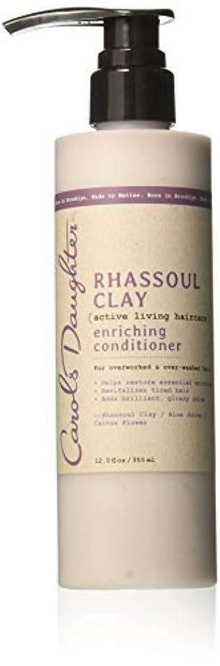 真実に勝者有用キャロルズドーター Rhassoul Clay Active Living Haircare Enriching Conditioner (For Overworked & Over-washed Hair) 355ml