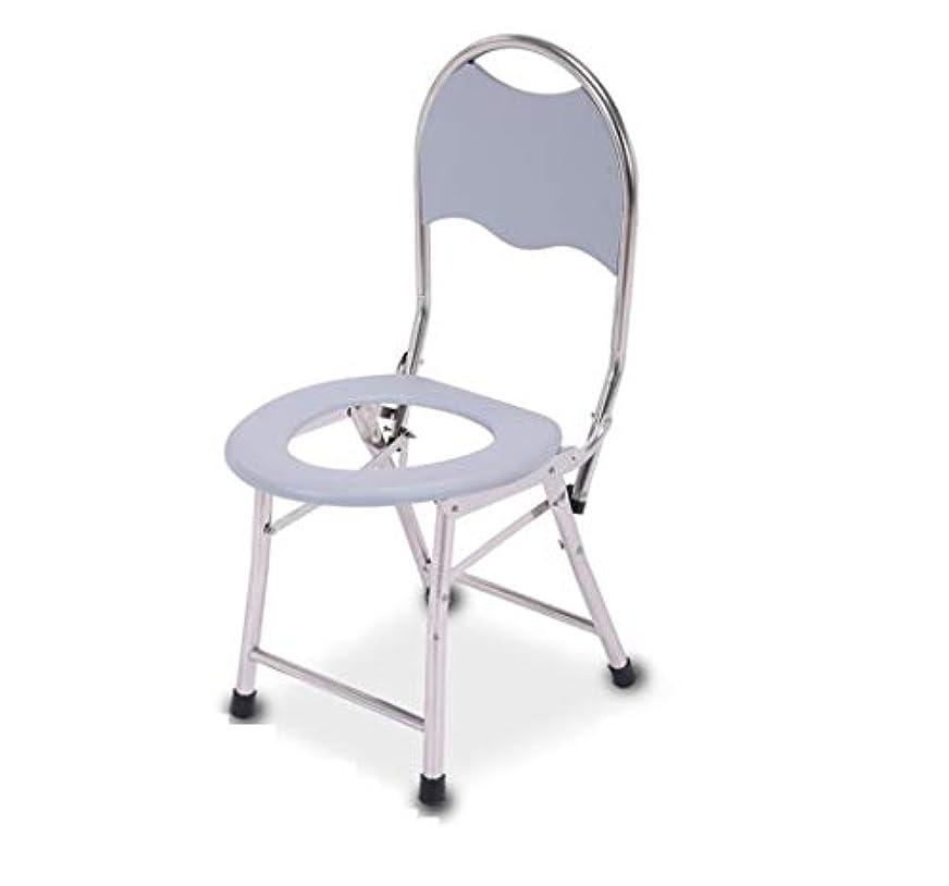 覚醒王族放棄する便器椅子、大人用便座、安全ステンレス鋼滑り止めシャワー椅子、携帯用しゃがむパン