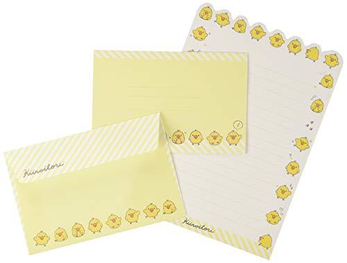 サンエックス リラックマ レターセット 便箋12枚 キイロイトリマフィンカフェ LH67501
