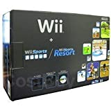 Nintendo Wii Console Black with Wii Sports and Wii Sports Resort [並行輸入品]