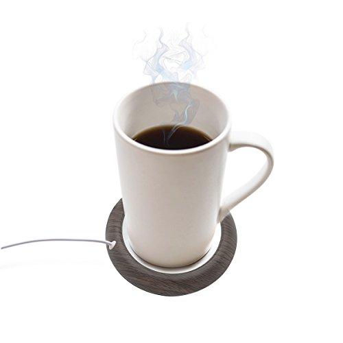 USB カップウォーマー 保温 コースター お茶カップ 木目...