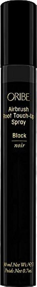 ORIBE エアブラシルートタッチアップスプレー、 0.7オンス ブラック