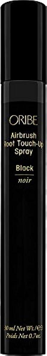 機知に富んだ不確実周辺ORIBE エアブラシルートタッチアップスプレー、 0.7オンス ブラック