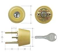 GOAL(ゴール) V18シリンダー TXタイプ 鍵 交換 取替え テール刻印34 GCY-239 TX/TDDゴールド色(つや消し)34~37mm(テール刻印34)