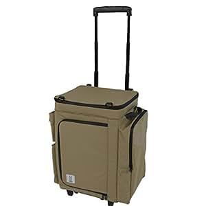 DOD(ディーオーディー) バベコロ2 冷蔵庫型 ソフトクーラー ボックス アルミホイル も入れられる サイドのポッケが 便利だよ CL1-653-TN