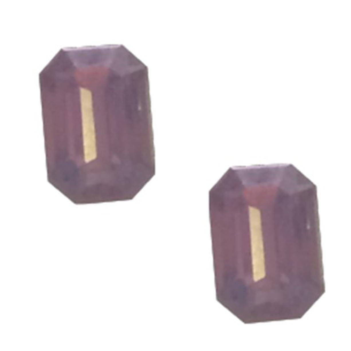 該当するウガンダ世辞POSH ART ネイルパーツ長方形型 4*6mm 10P ピンクオパール
