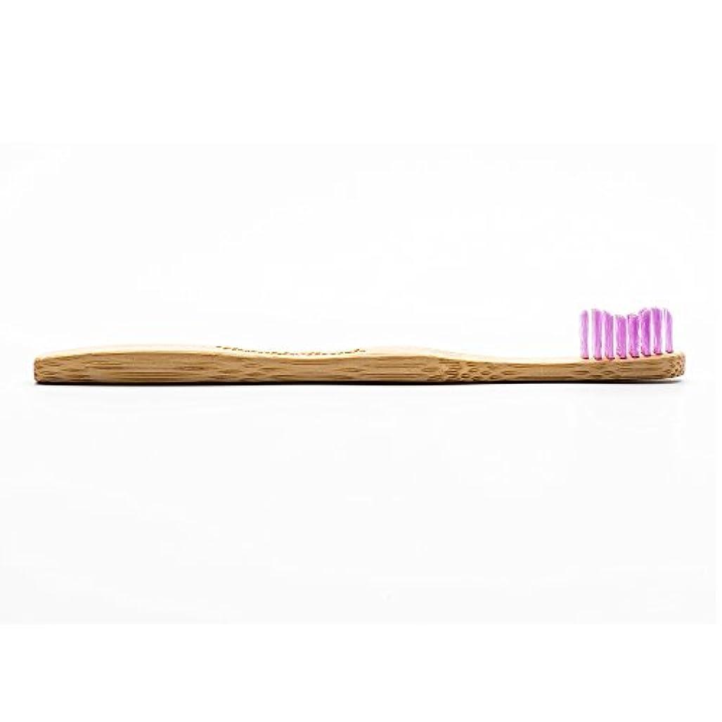 反乱イライラする段落HUMBLE BRUSH(ハンブルブラッシュ) 歯ブラシ キッズ パープル