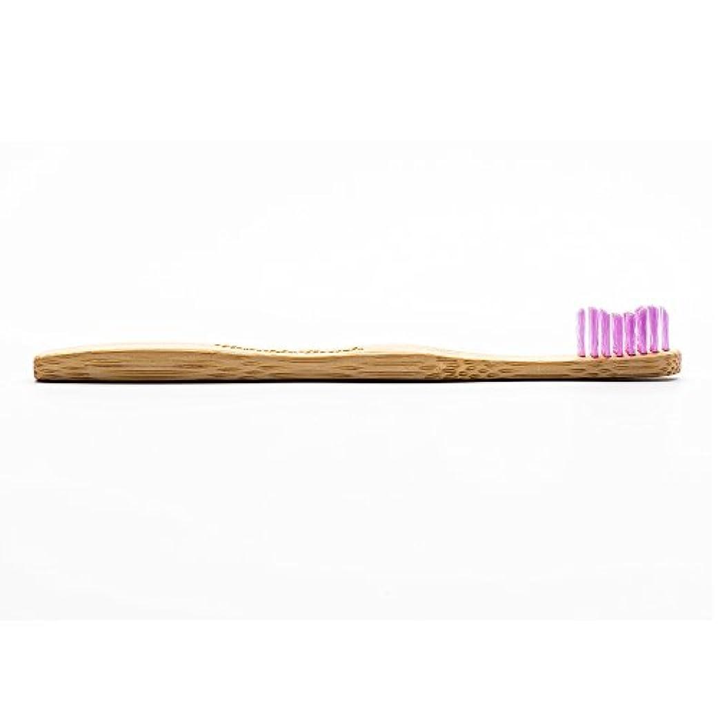 トロピカル賞誘うHUMBLE BRUSH(ハンブルブラッシュ) 歯ブラシ キッズ パープル