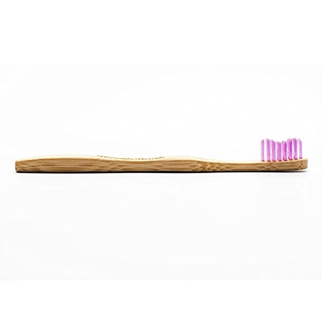 ビジョンバス足音HUMBLE BRUSH(ハンブルブラッシュ) 歯ブラシ キッズ パープル