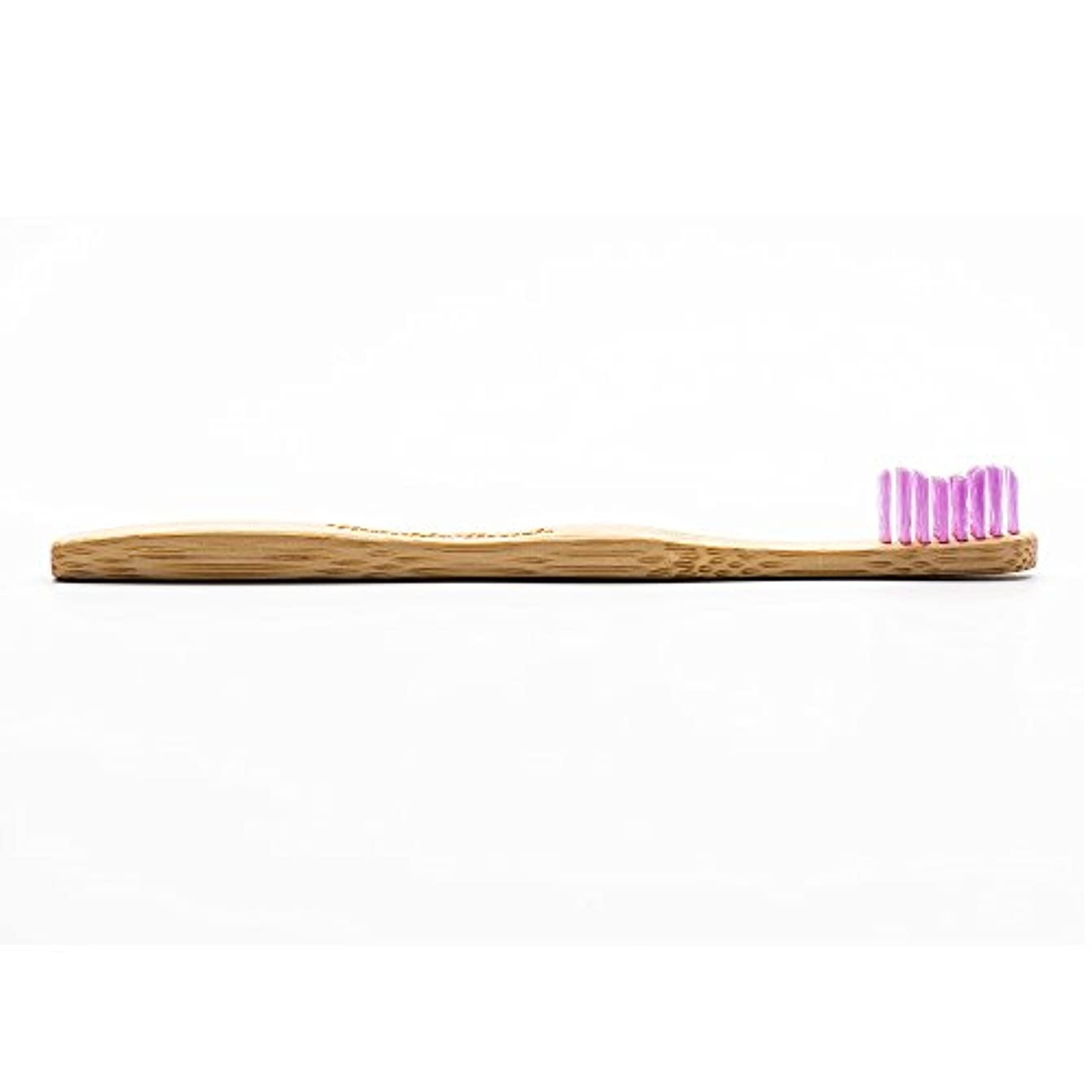 飼いならすベアリンググリースHUMBLE BRUSH(ハンブルブラッシュ) 歯ブラシ キッズ パープル