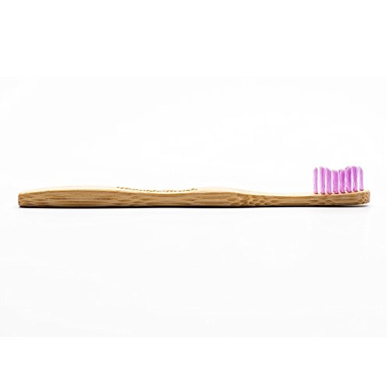 意見綺麗なケープHUMBLE BRUSH(ハンブルブラッシュ) 歯ブラシ キッズ パープル