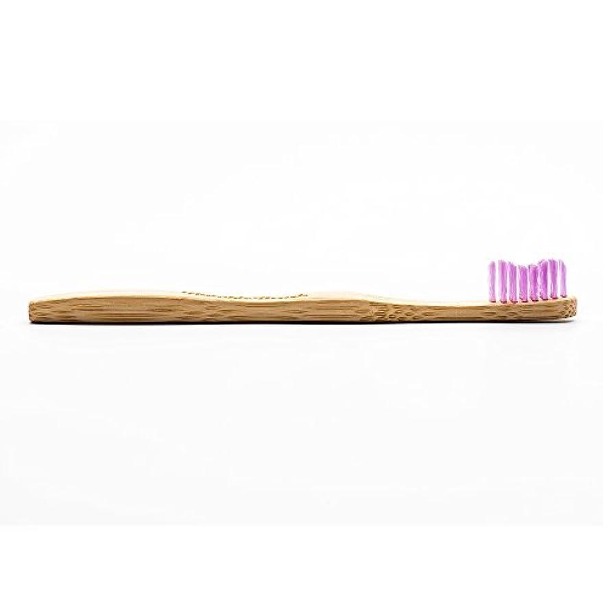 課税歯痛コンセンサスHUMBLE BRUSH(ハンブルブラッシュ) 歯ブラシ キッズ パープル