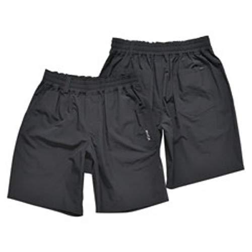 Pirate Black Elastic Shorts RVCA Weekend