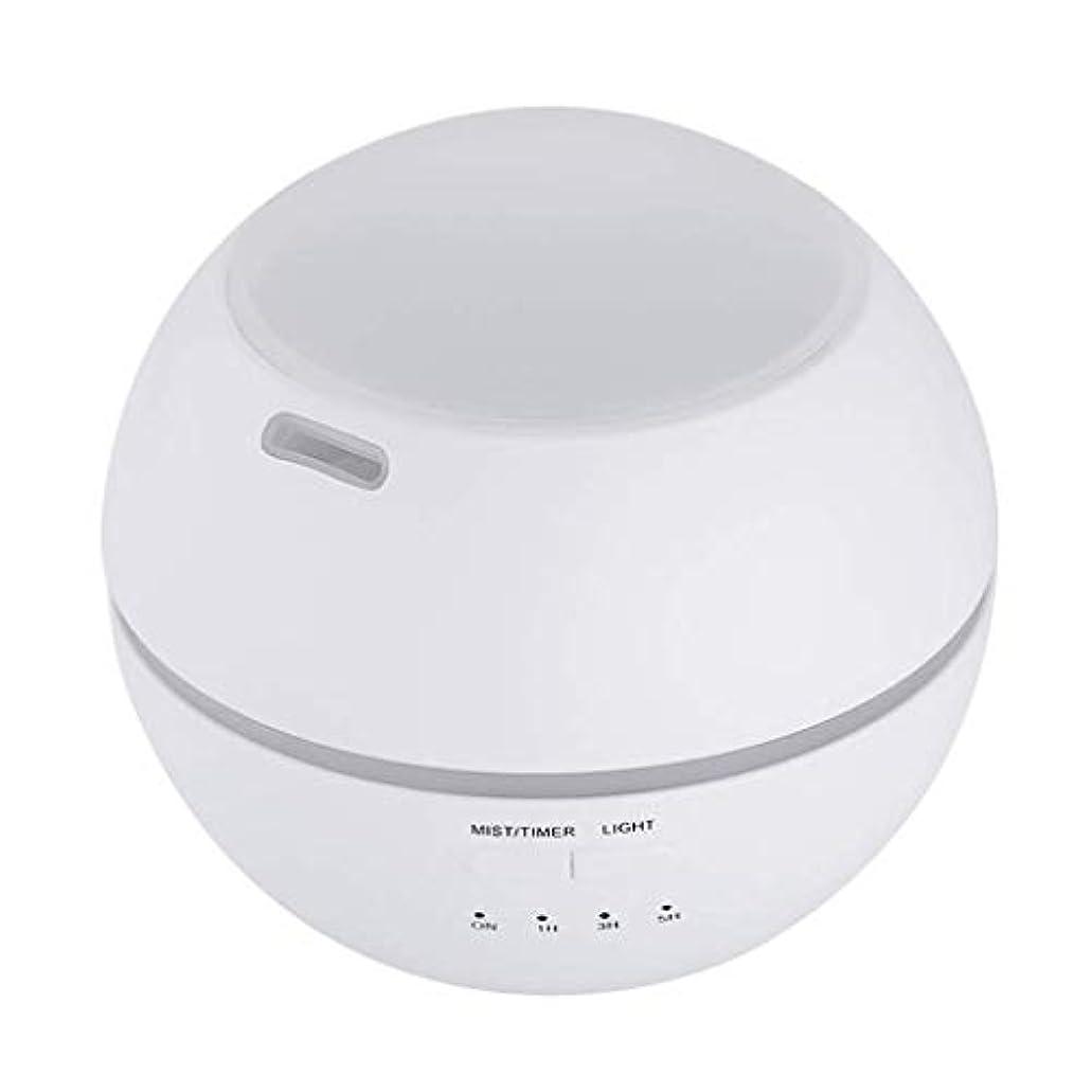 上結核好ましい加湿器、ポータブルアロマテラピーランプ、エッセンシャルオイルディフューザー加湿器、LEDランプの色を変える、空気清浄アロマテラピーマシン、サイレント家庭用 (Color : 白)