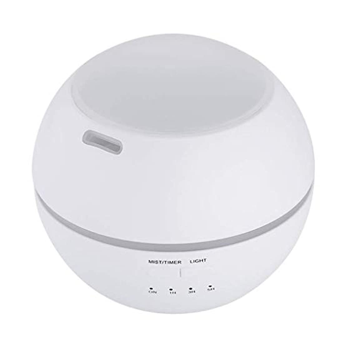 血かけがえのないピック加湿器、ポータブルアロマテラピーランプ、エッセンシャルオイルディフューザー加湿器、LEDランプの色を変える、空気清浄アロマテラピーマシン、サイレント家庭用 (Color : 白)