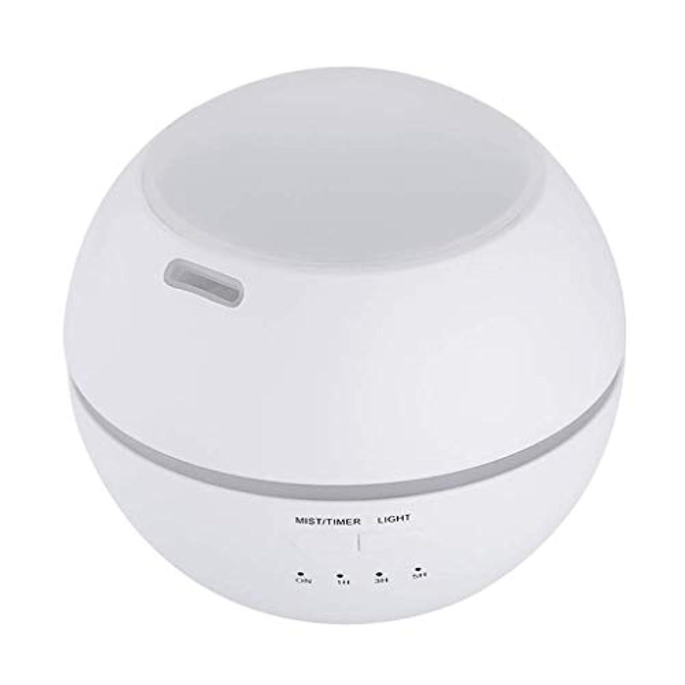 解読する解くアッティカス加湿器、ポータブルアロマテラピーランプ、エッセンシャルオイルディフューザー加湿器、LEDランプの色を変える、空気清浄アロマテラピーマシン、サイレント家庭用 (Color : 白)
