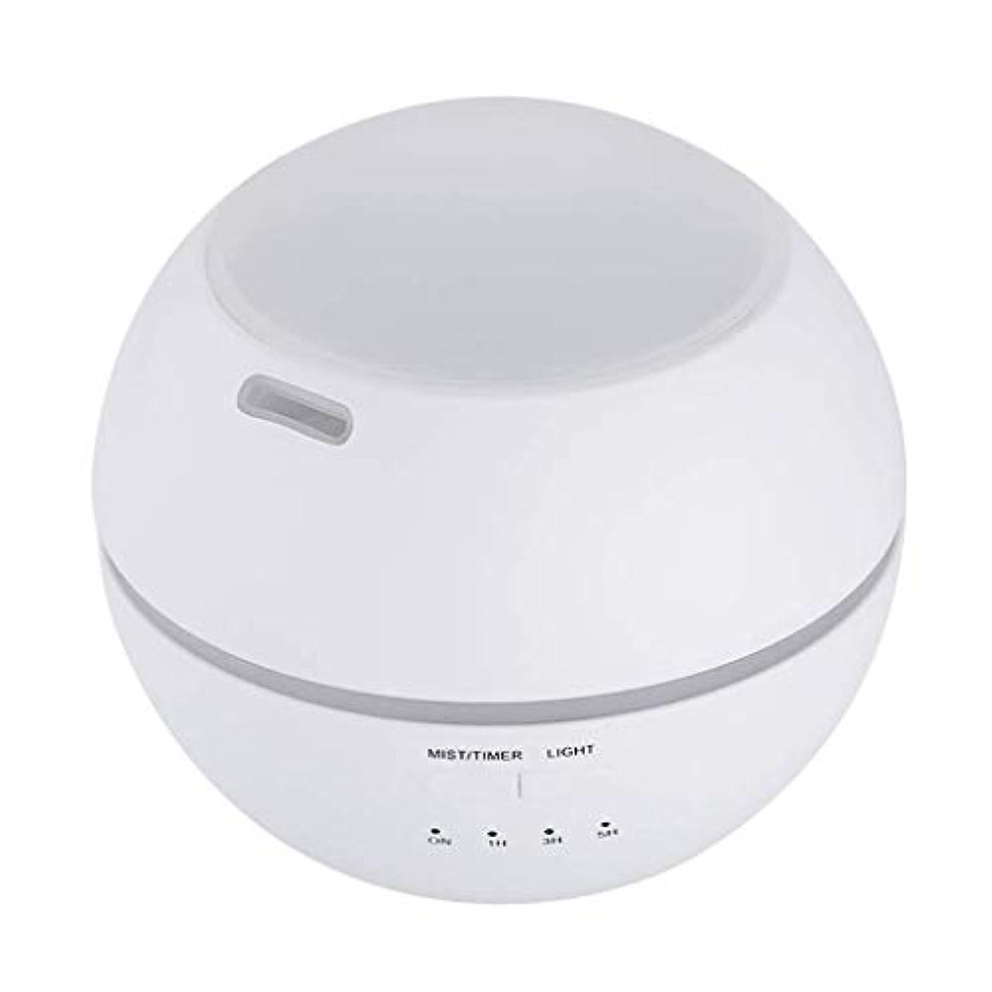 洞察力のあるローン糞加湿器、ポータブルアロマテラピーランプ、エッセンシャルオイルディフューザー加湿器、LEDランプの色を変える、空気清浄アロマテラピーマシン、サイレント家庭用 (Color : 白)