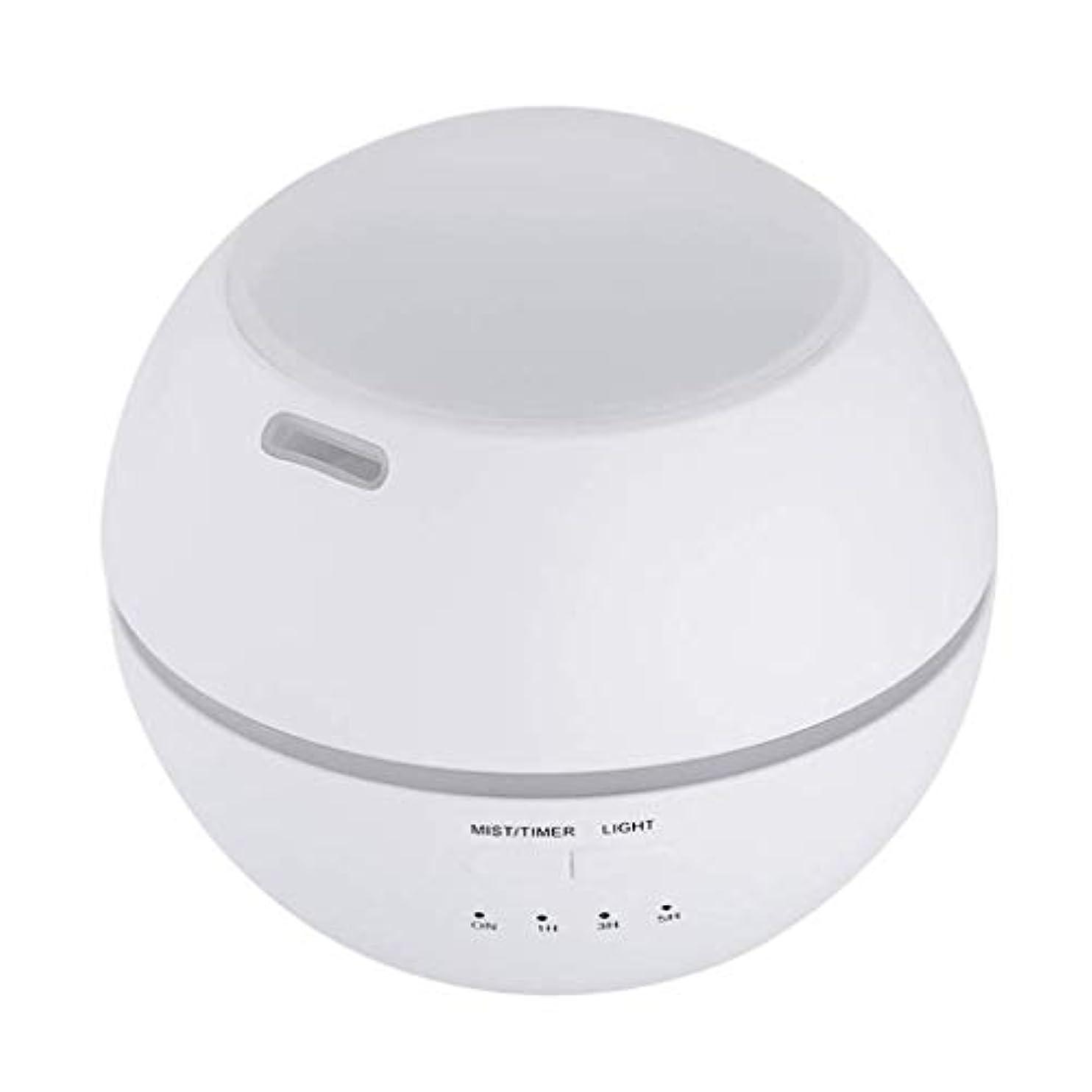 美しいブルゴーニュ建てる加湿器、ポータブルアロマテラピーランプ、エッセンシャルオイルディフューザー加湿器、LEDランプの色を変える、空気清浄アロマテラピーマシン、サイレント家庭用 (Color : 白)