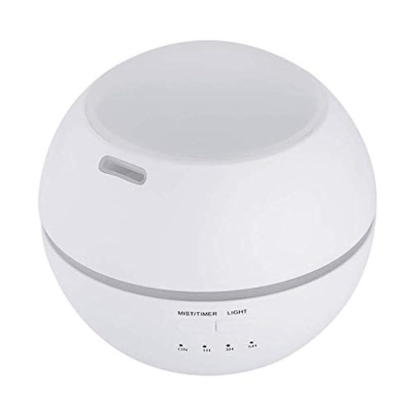 炭素巻き戻す友だち加湿器、ポータブルアロマテラピーランプ、エッセンシャルオイルディフューザー加湿器、LEDランプの色を変える、空気清浄アロマテラピーマシン、サイレント家庭用 (Color : 白)