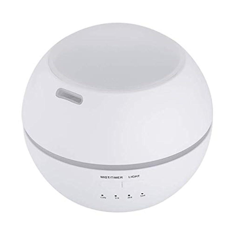 ベルベットずんぐりしたかすかな加湿器、ポータブルアロマテラピーランプ、エッセンシャルオイルディフューザー加湿器、LEDランプの色を変える、空気清浄アロマテラピーマシン、サイレント家庭用 (Color : 白)