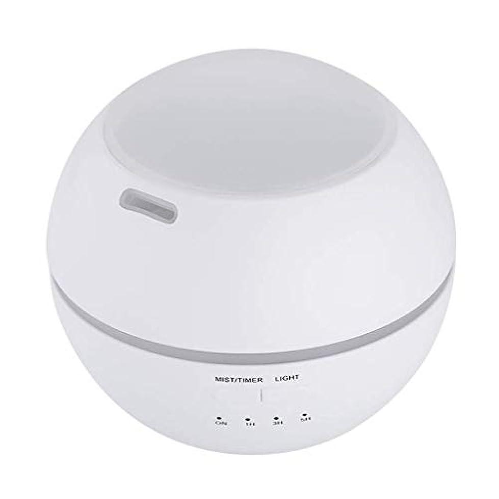 温室壊すチケット加湿器、ポータブルアロマテラピーランプ、エッセンシャルオイルディフューザー加湿器、LEDランプの色を変える、空気清浄アロマテラピーマシン、サイレント家庭用 (Color : 白)