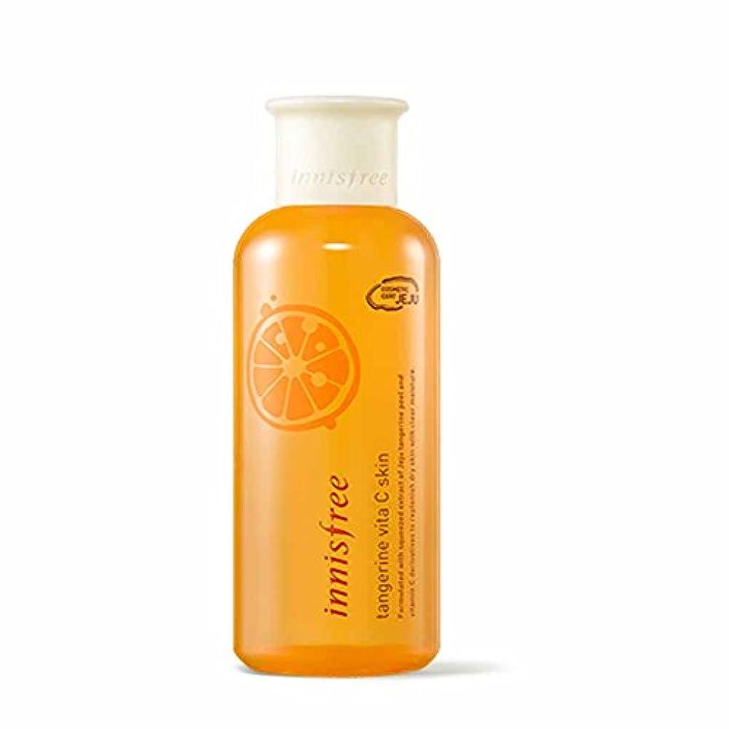 劇作家裁判官リスナーイニスフリータンジェリンビタCスキン(トナー)200ml Innisfree Tangerine Vita C Skin(Toner) 200ml [海外直送品][並行輸入品]