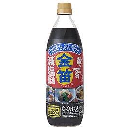 金笛減塩醤油 1リットル×2個 JAN:4977229200039