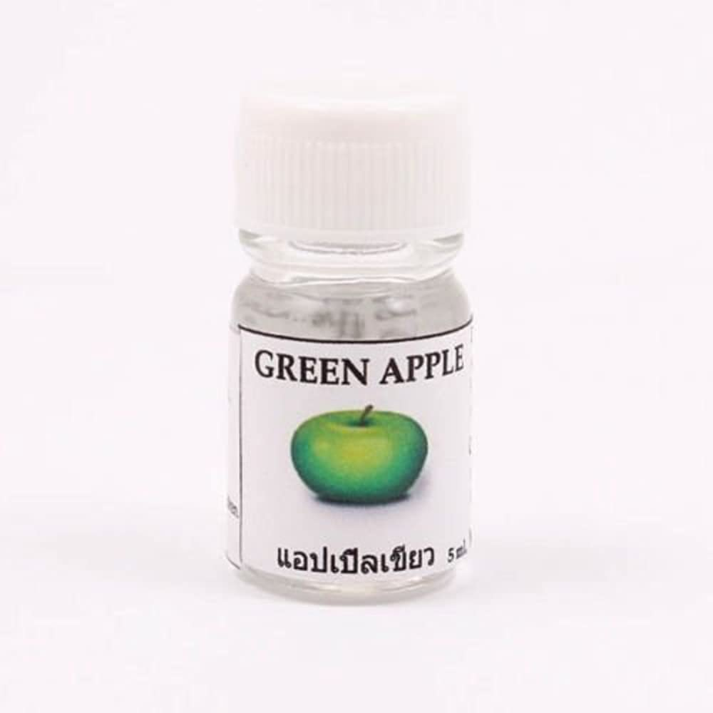 ビルマとまり木心配する6X Green Apple Aroma Fragrance Essential Oil 5ML Diffuser Burner Therapy